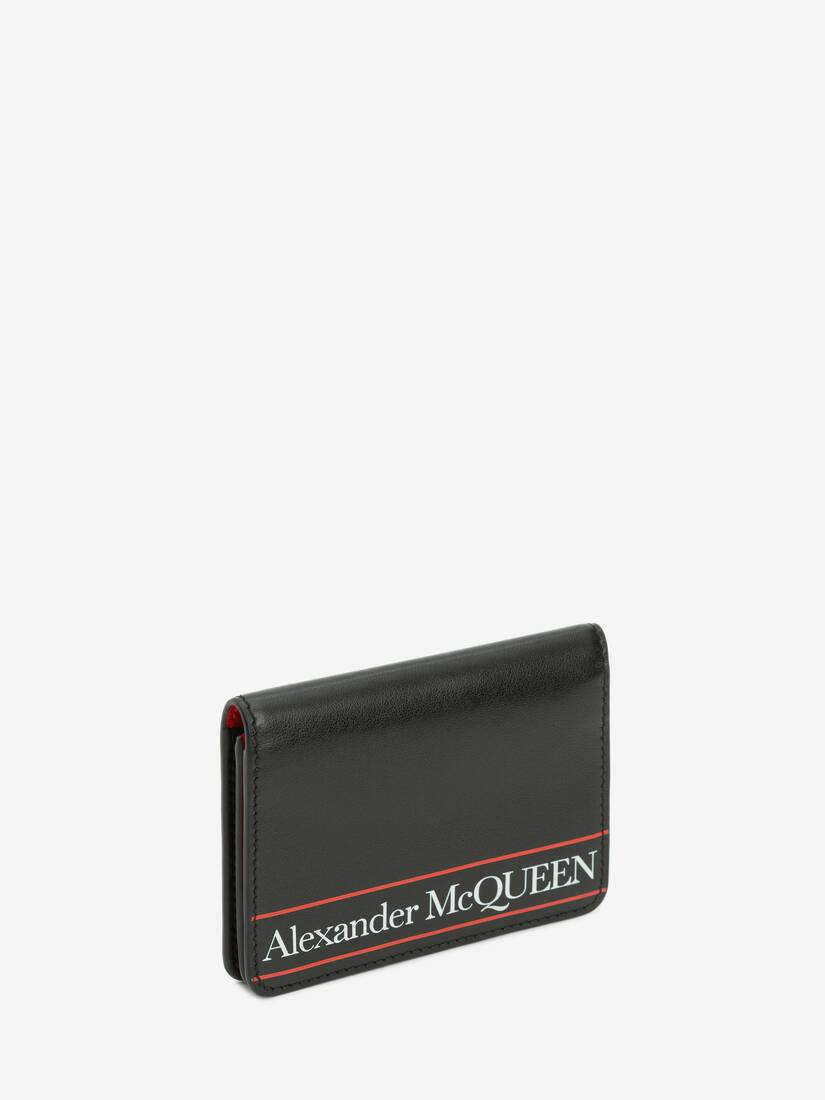 Display a large version of the product image 2 - Alexander McQueen Business Card Holder