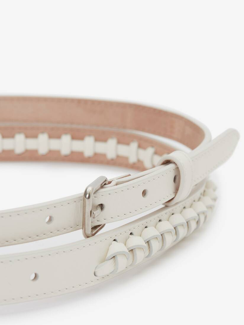 Display a large version of the product image 3 - Thin Double Belt with Knots
