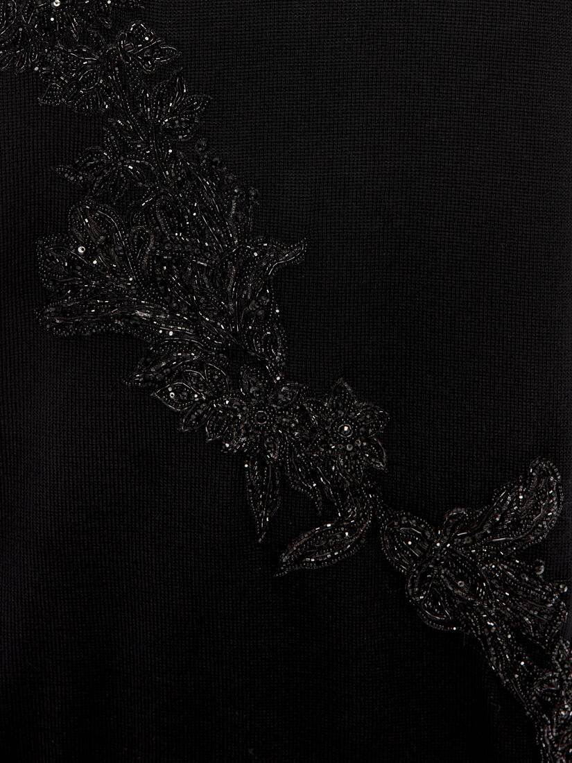 Display a large version of the product image 5 - Jet Embroidered Floral Garland Jumper
