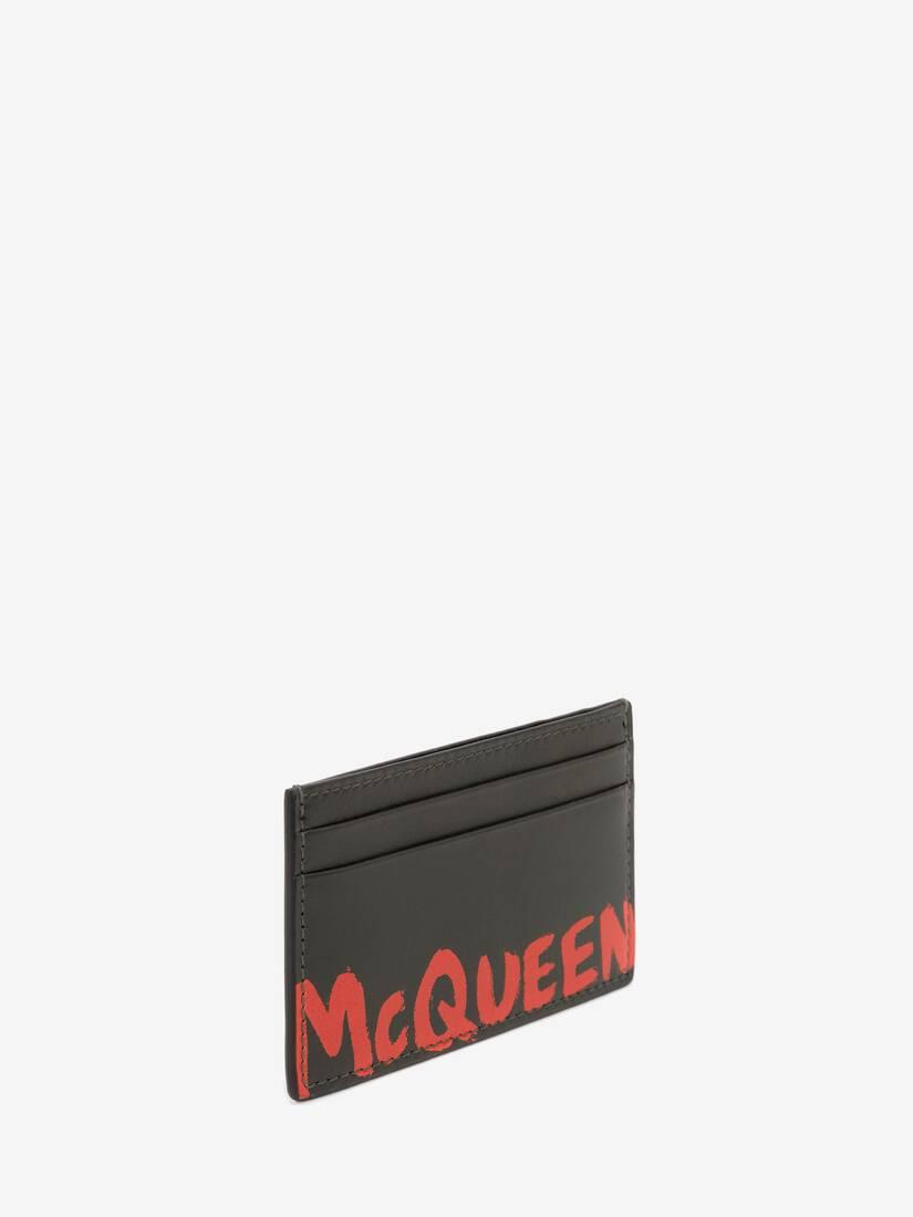 맥퀸 그래피티 카드 홀더