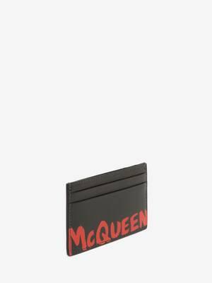 McQueen Graffiti Card Holder