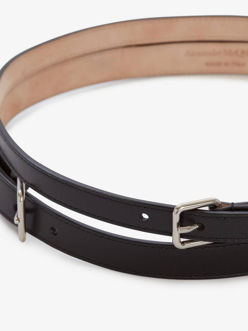 Display a large version of the product image 3 - Thin Double Belt