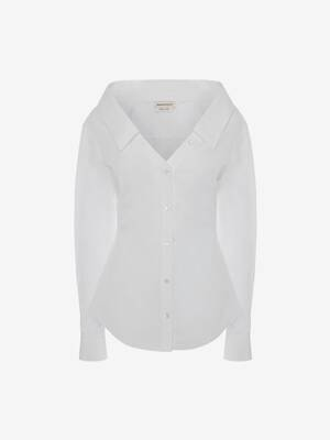 Cotton Poplin Fitted Shirt