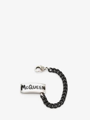 McQueen Graffiti Sneaker Charm
