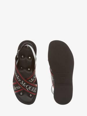 Cross-Strap Sandal
