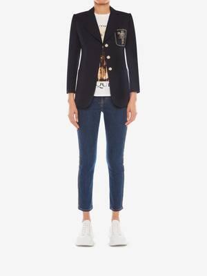 Patch Pocket Cotton Panama Jacket