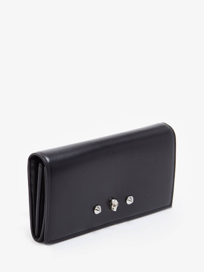 Display a large version of the product image 2 - Skull and Stud Continental Wallet