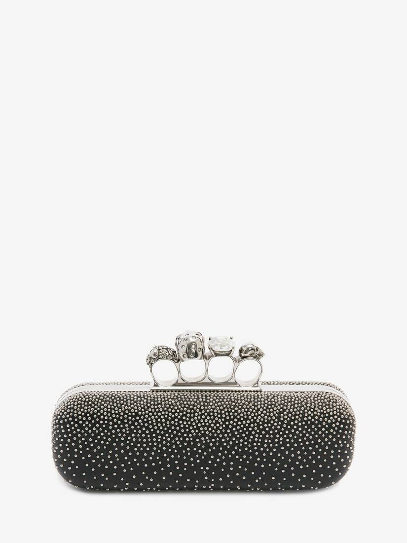 Display a large version of the product image 3 - Studded Four Ring Clutch