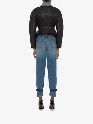 Hybrid Leather Trouser