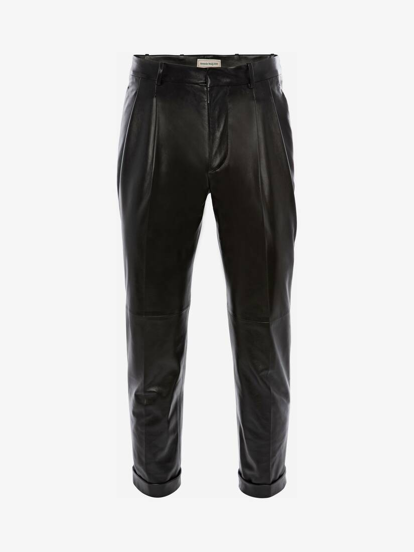 Display a large version of the product image 1 - Leather Trousers