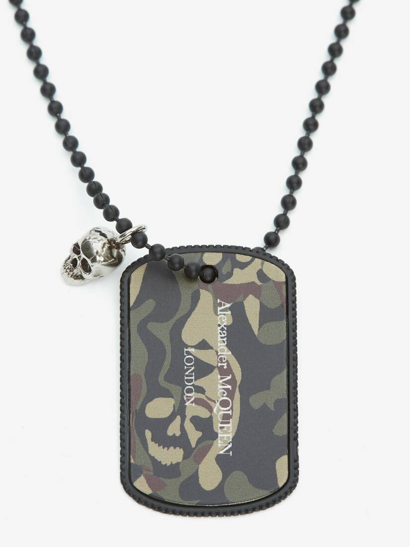 Display a large version of the product image 2 - Camouflage Identity Necklace
