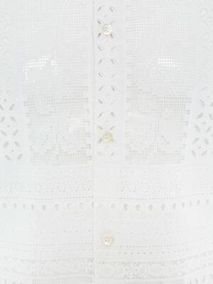 Patchwork Embroidered Shirt