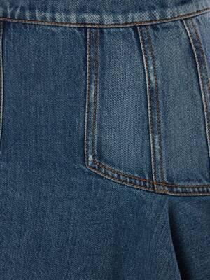 Mini jupe en denim Kickback