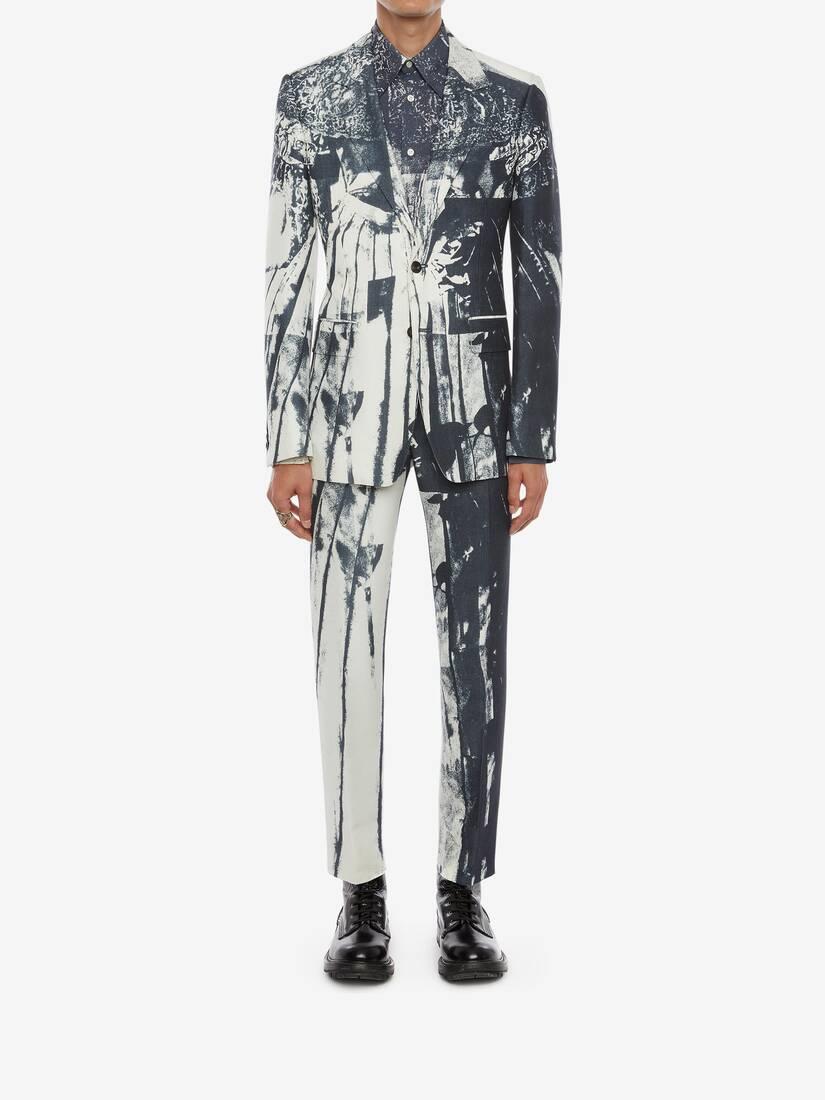 Trompe-l'œil Printed Jacket