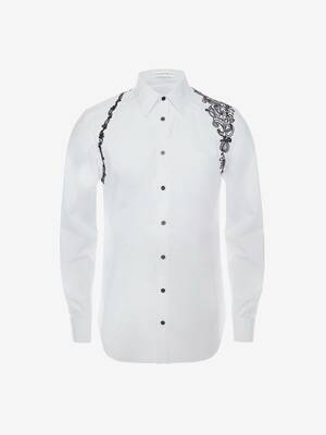 Embroidered Harness Shirt