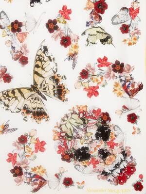 Botanical Paisley Shawl