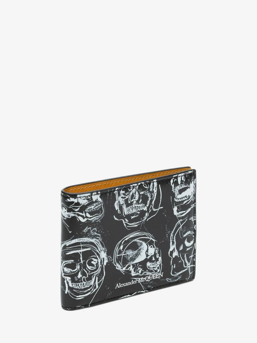 Display a large version of the product image 2 - Painted Skull Billfold Wallet