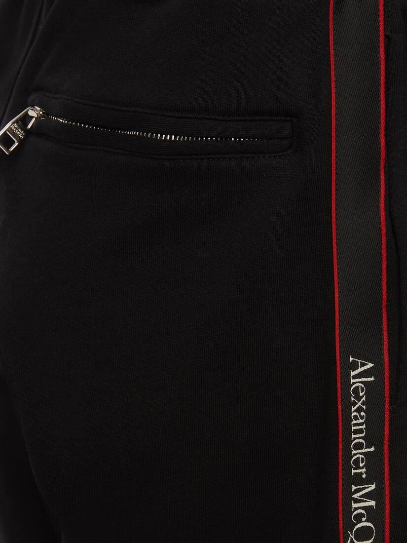 Selvedge Logo Tape Detail Shorts