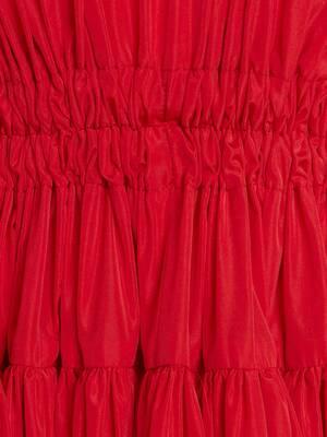 Drawstring Ribbon Tie Dress