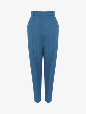 Wool Peg Trouser