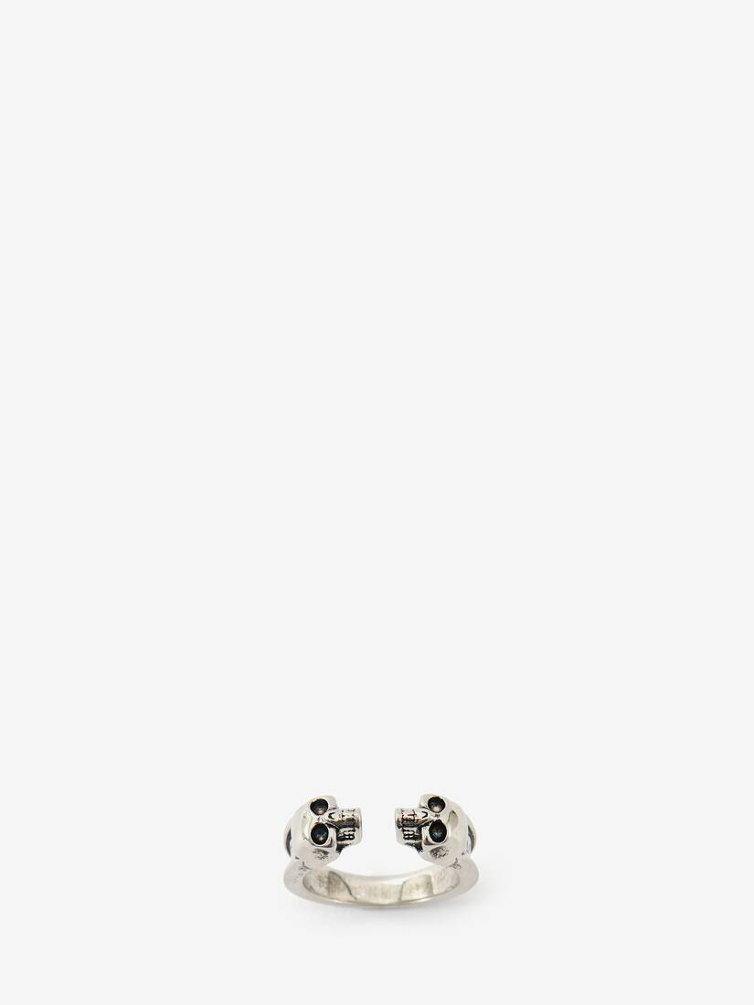 Display a large version of the product image 3 - Twin Skull Ring