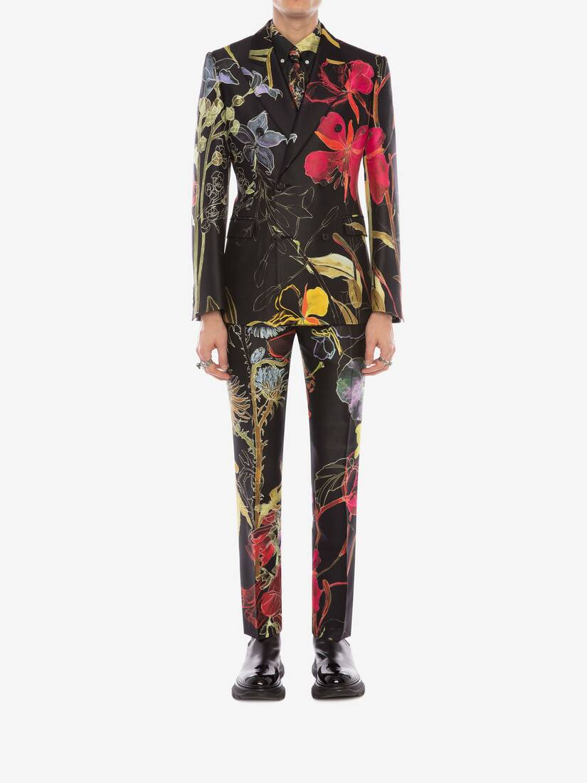 Display a large version of the product image 2 - Deconstructed Floral Trousers