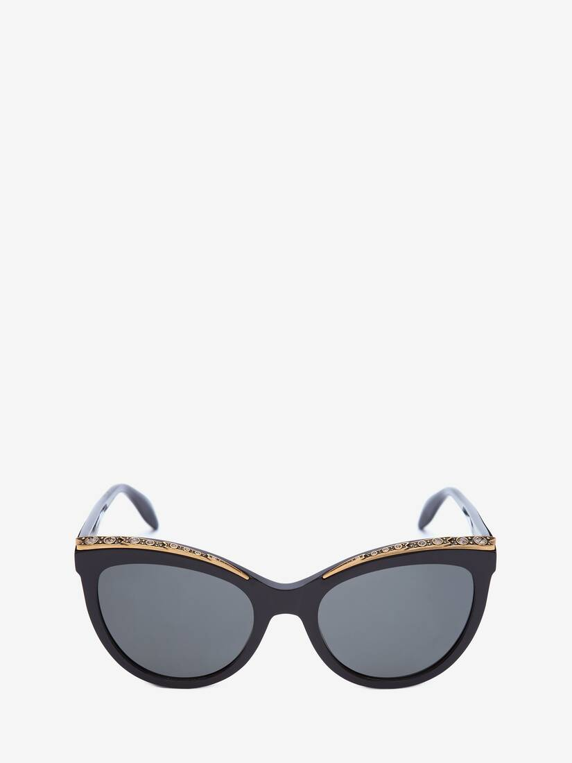 Display a large version of the product image 1 - Occhiali da Sole Jewelled Cat-Eye
