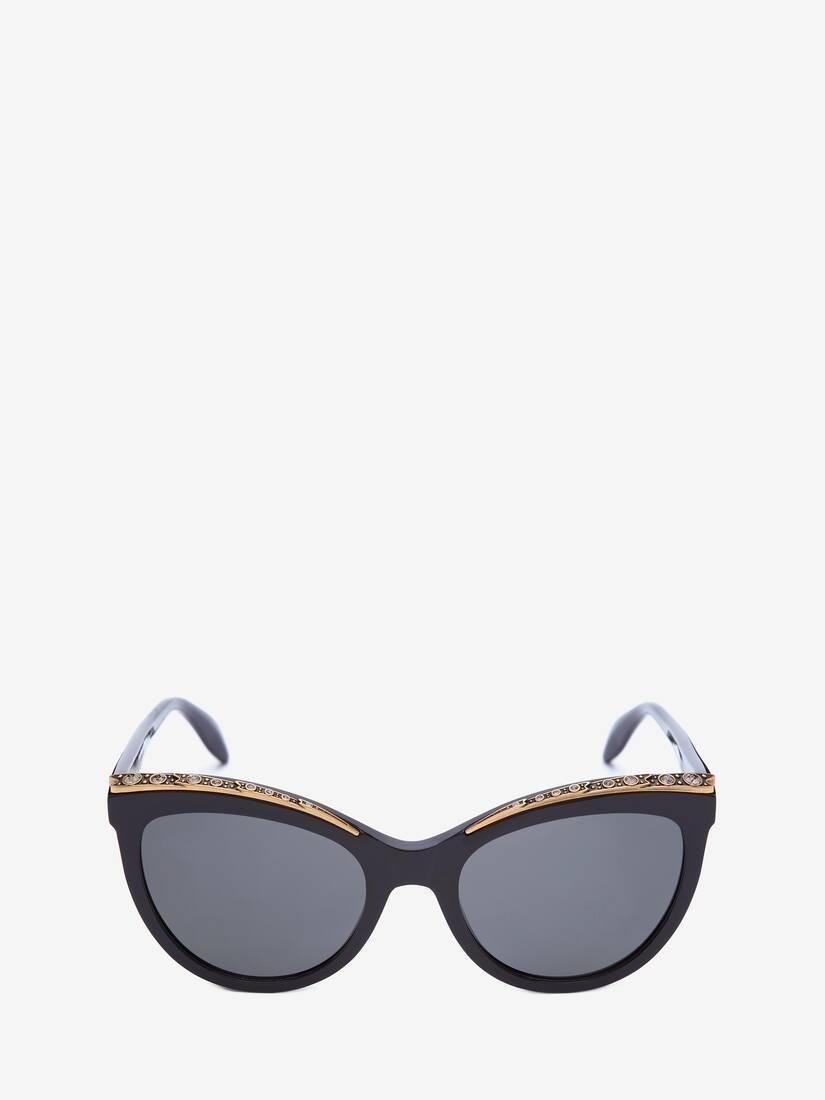Occhiali da Sole Jewelled Cat-Eye