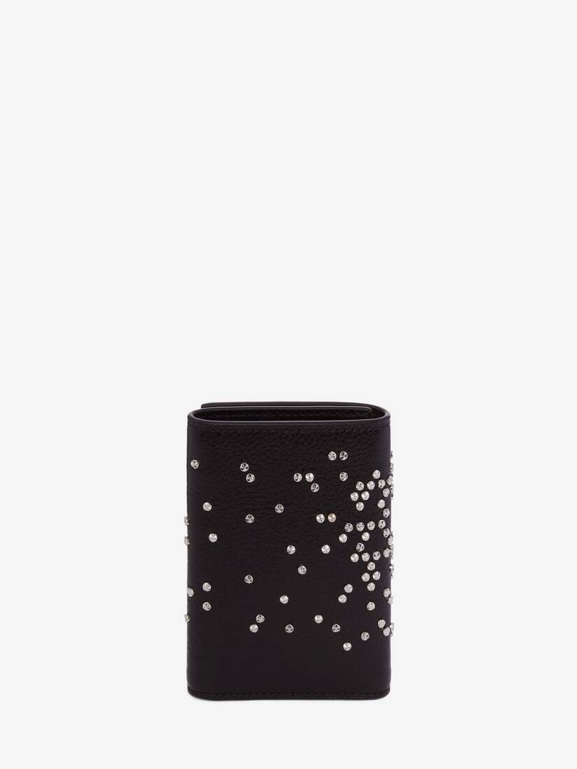 Studded Trifold Wallet