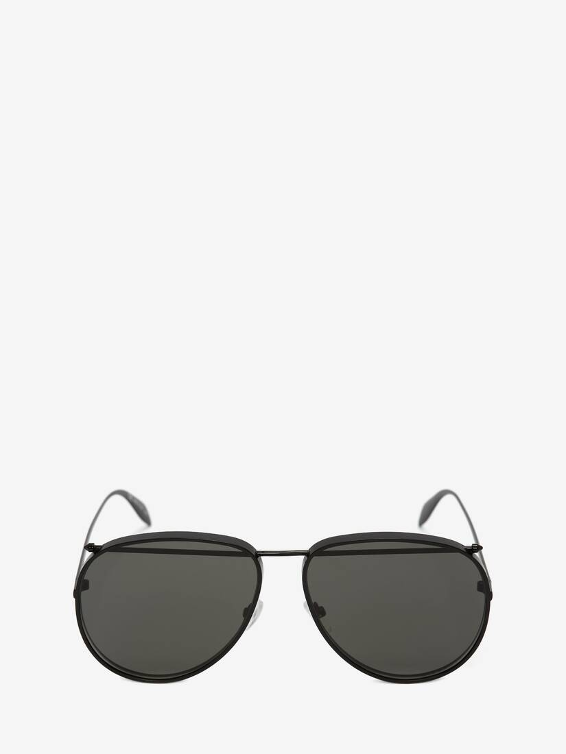 Display a large version of the product image 1 - Piercing Pilot Metal Sunglasses