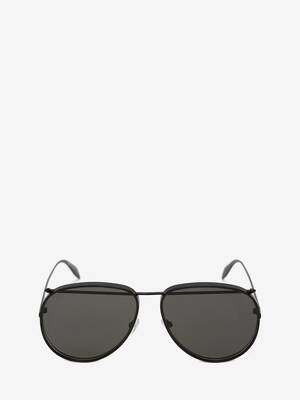 Piercing Pilot Metal Sunglasses