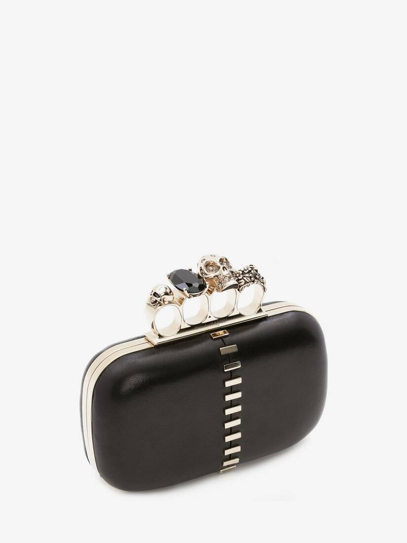 Display a large version of the product image 2 - Skull Four-Ring Clutch