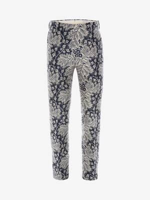 Ivy Creeper Jacquard Trousers