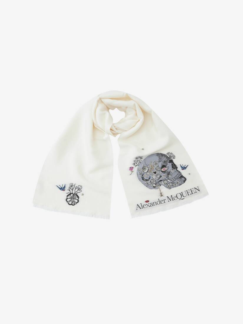 Brooches Monarch Scarf