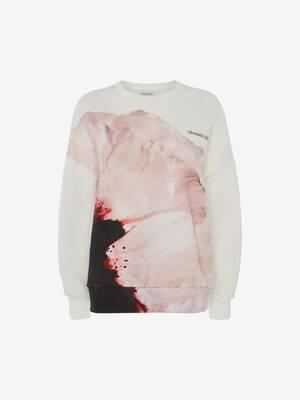 Anemone print Sweatshirt