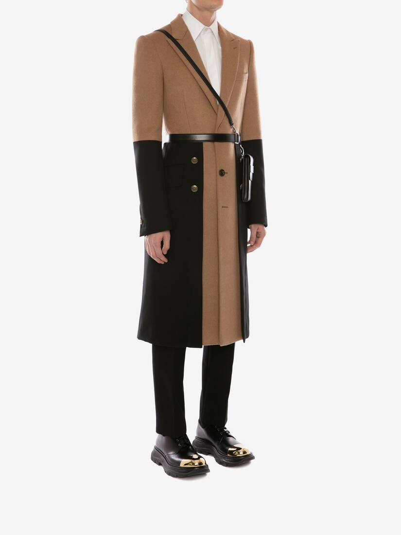 Display a large version of the product image 3 - Double Faced Wool Military Coat