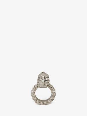 Jewelled Skull Ring