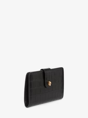 Skull Folded Wallet