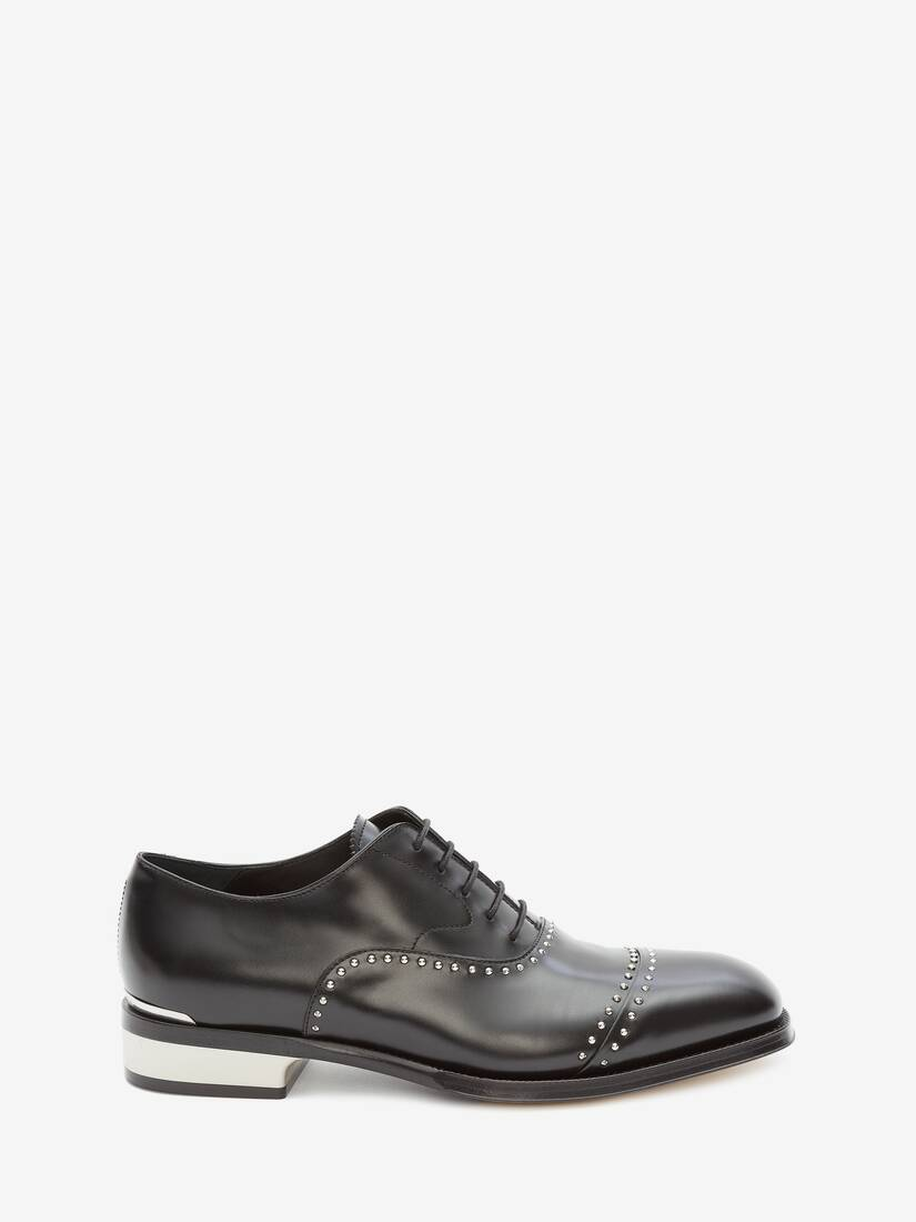 Display a large version of the product image 1 - Metal Heel Oxford Lace-Up