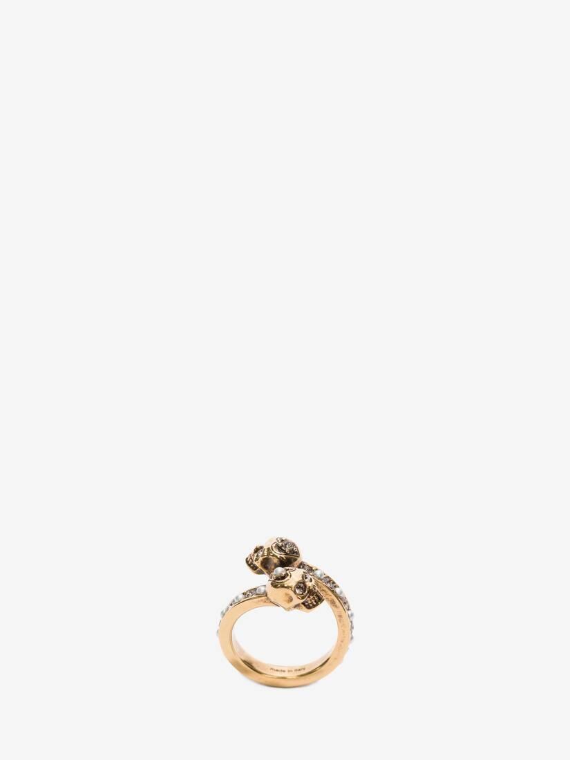 大きな製品イメージを表示する 1 - Wrap-Around Skull Ring