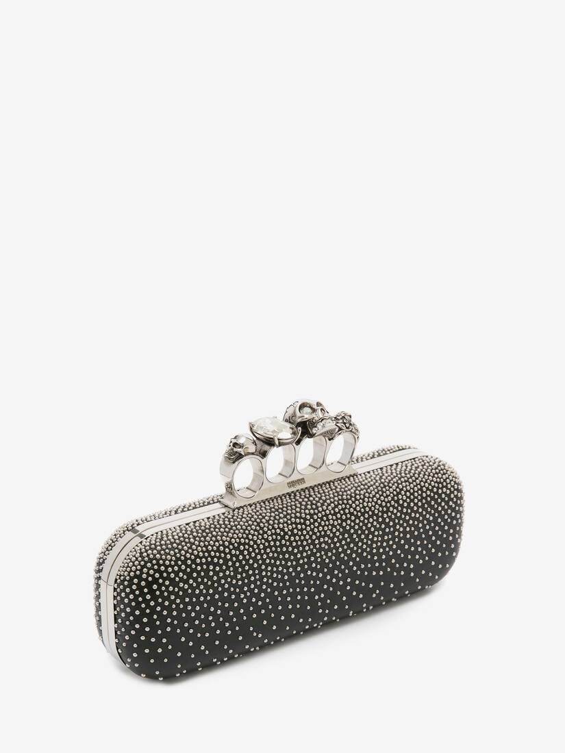 Display a large version of the product image 2 - Studded Four Ring Clutch