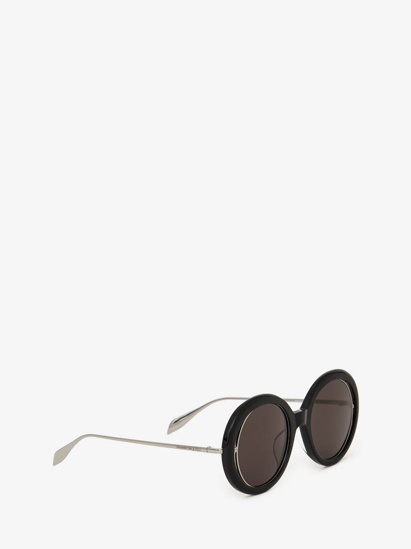 Display a large version of the product image 3 - Open Wire Round Sunglasses
