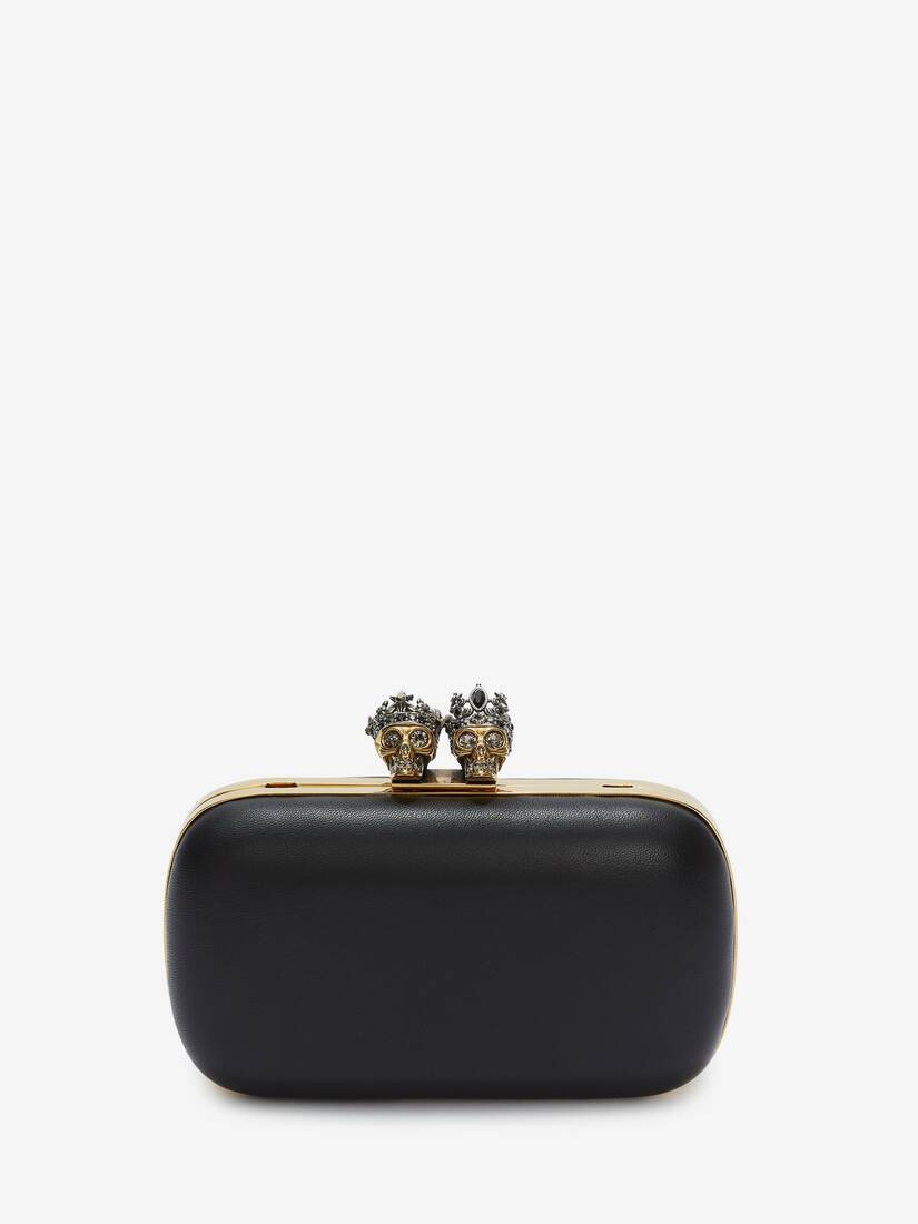 Display a large version of the product image 1 - Queen and King Skull Clutch