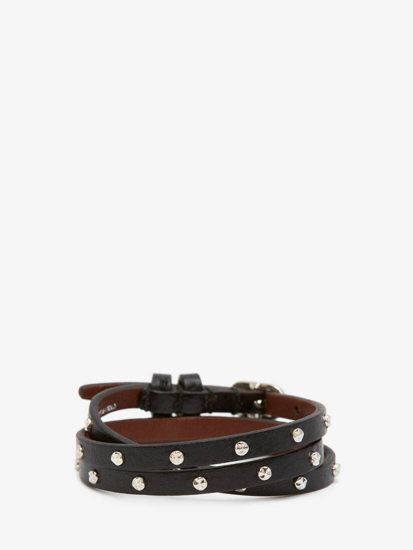 Display a large version of the product image 2 - Double-Wrap Studded Bracelet