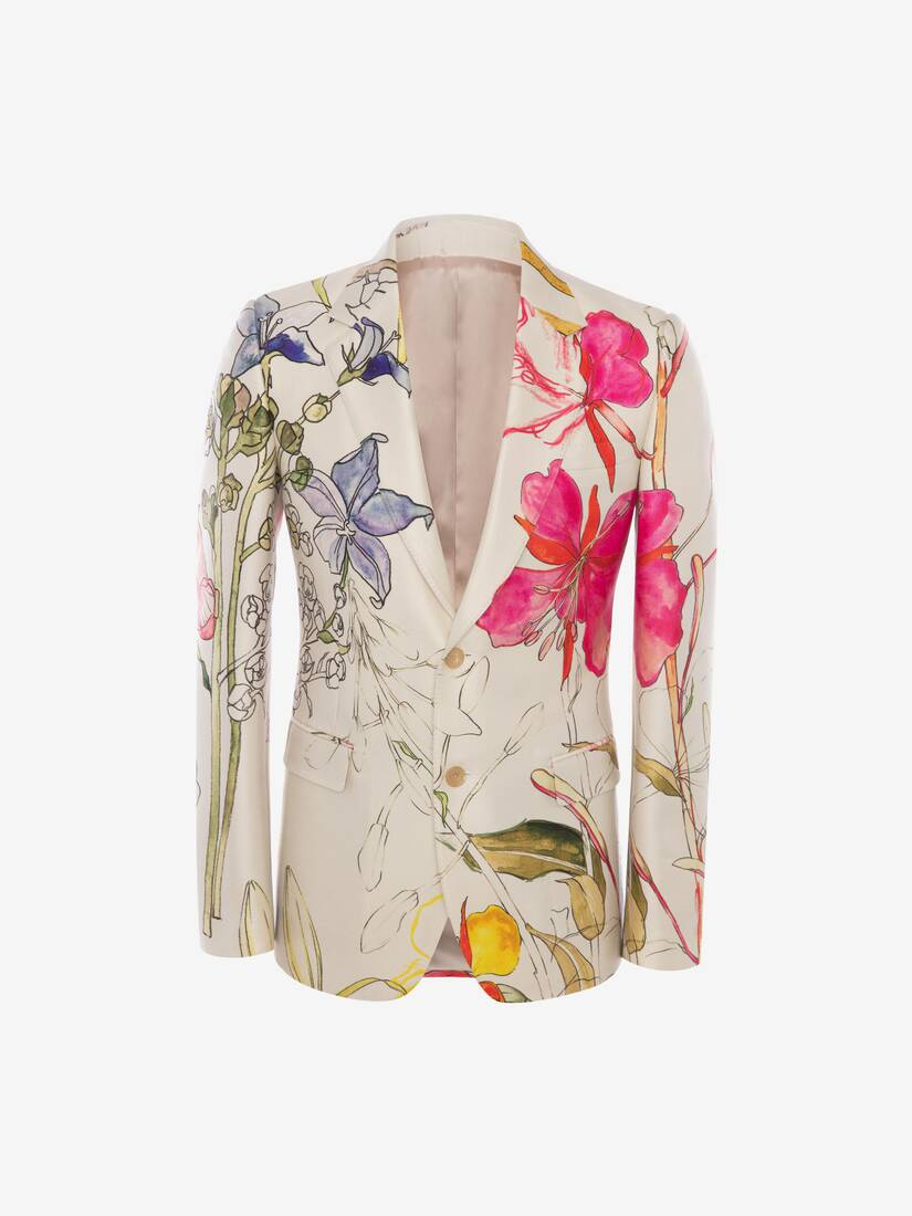 Display a large version of the product image 1 - Deconstructed Floral Jacket