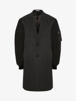 Oversize Parka Sleeves Tailored Coat