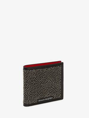 Studded Billfold Wallet
