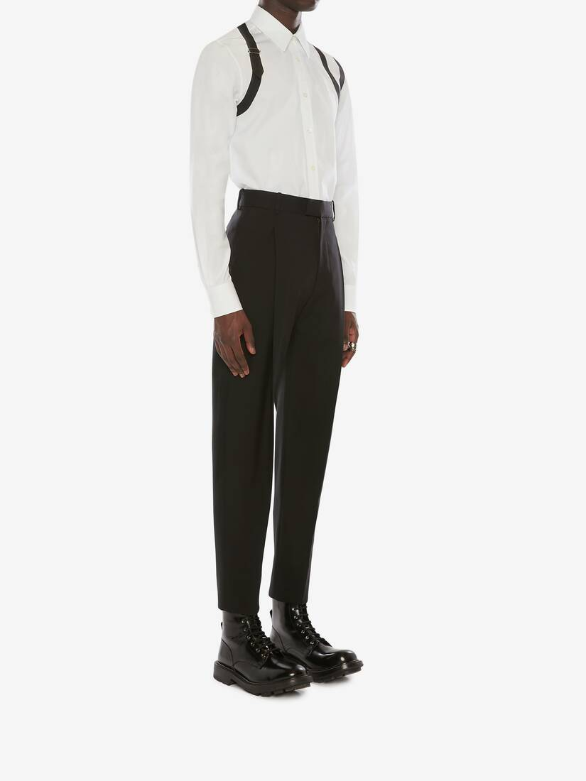 Cavalry Twill Pleated Trousers