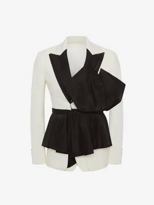 Exploded Peplum Jacket