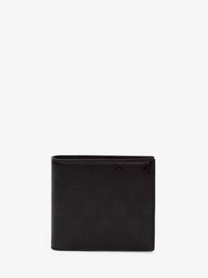 바이커 스컬 빌폴드 지갑